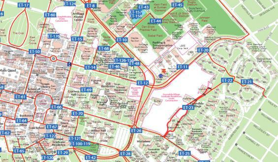 DPS suggested travel routes map